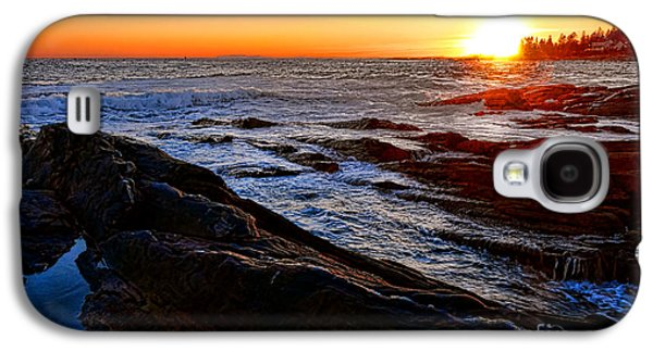 Sunset Off Pemaquid Point Galaxy S4 Case by Olivier Le Queinec