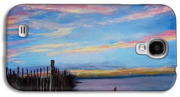Sunset On Cape Cod Bay Galaxy S4 Case by Jack Skinner