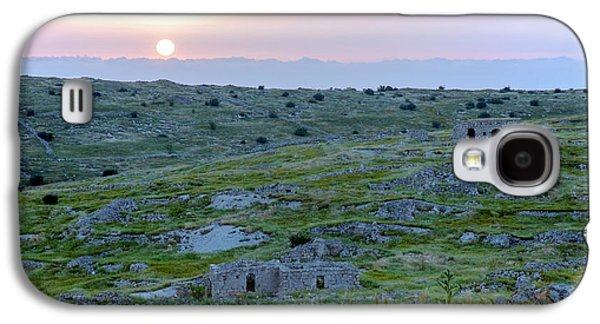 Sunset Over A 2000 Years Old Village Galaxy S4 Case