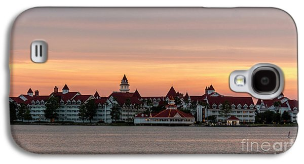 Sunset Over The Grand Floridian Galaxy S4 Case
