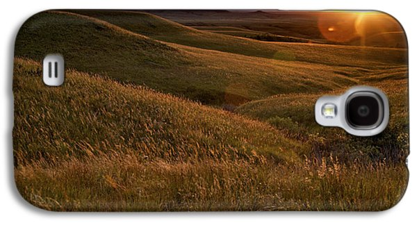 Sunset Over The Kansas Prairie Galaxy S4 Case
