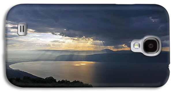 Sunset Over The Sea Of Galilee Galaxy S4 Case