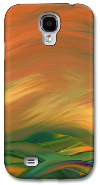 Sunset Over The Sea Of Worries Galaxy S4 Case by Giada Rossi