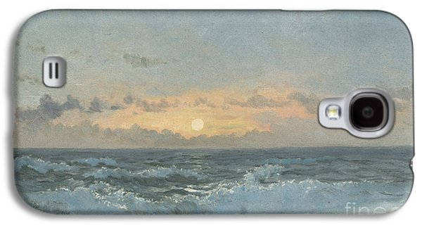 Sunset Over The Sea Galaxy S4 Case by William Pye