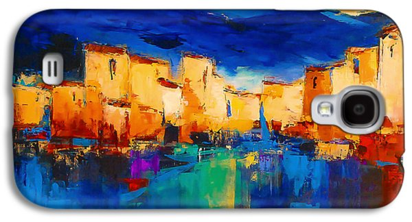 Sunset Over The Village Galaxy S4 Case by Elise Palmigiani