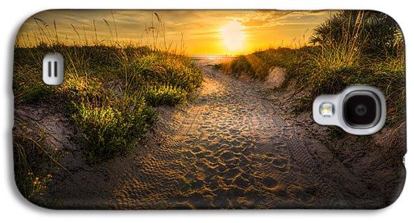 Sunset Path Galaxy S4 Case