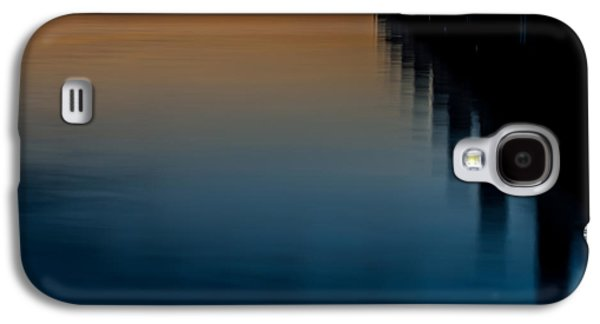 Sunset Pier Abstract Galaxy S4 Case