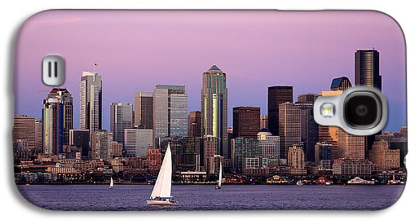 Sunset Sail In Puget Sound Galaxy S4 Case