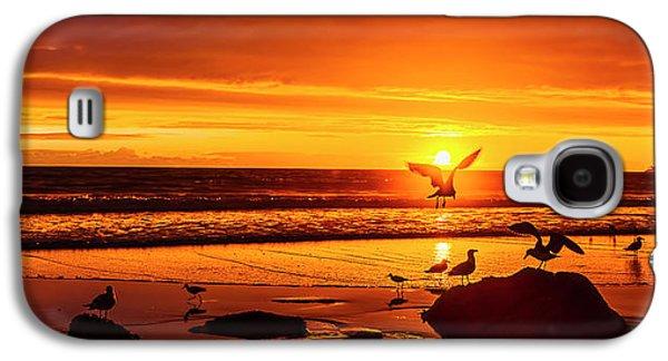 Sunset Surprise Pano Galaxy S4 Case