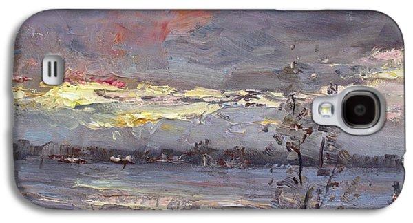 Sunset Galaxy S4 Case by Ylli Haruni