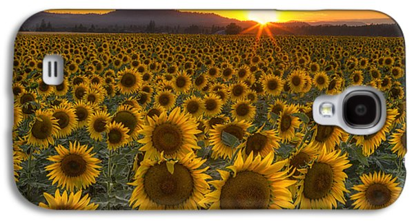 Sunshine And Happiness Galaxy S4 Case by Mark Kiver