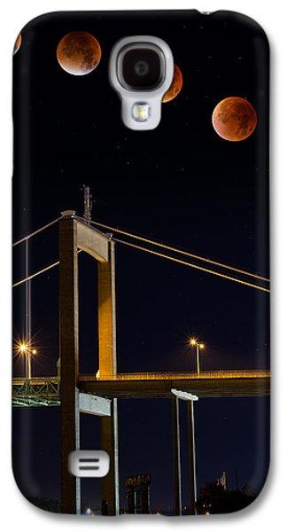 Super Blood Moon Galaxy S4 Case