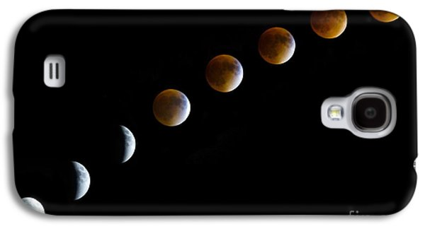 Super Blood Moon Time Lapse Galaxy S4 Case