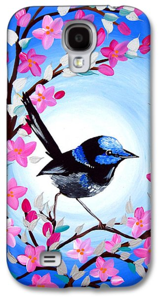 Superb Fairy Wren Galaxy S4 Case by Cathy Jacobs