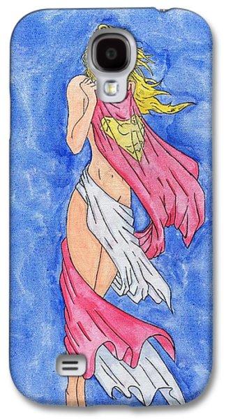 Supergirl Galaxy S4 Case by Ricardo Freitas