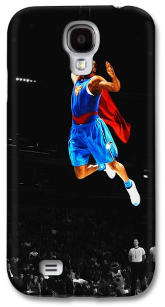 Superman Dwight Howard Galaxy S4 Case by Brian Reaves
