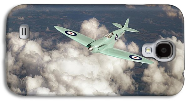 Galaxy S4 Case featuring the photograph Supermarine Spitfire Prototype K5054 by Gary Eason