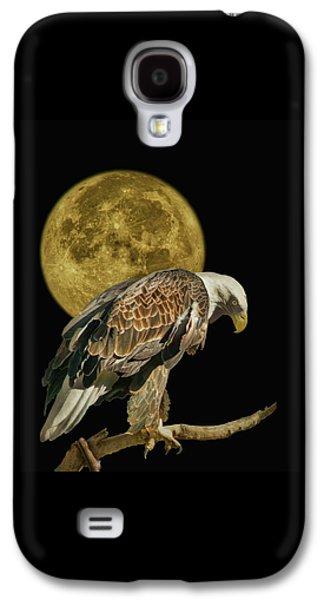Supermoon - Bald Eagle Galaxy S4 Case