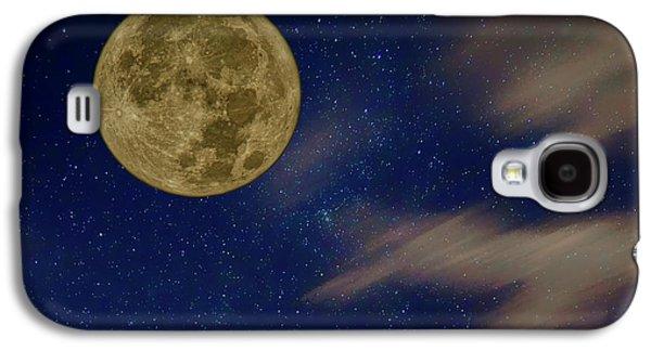 Supermoon - Night Sky Galaxy S4 Case