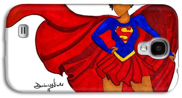 Superwoman I Am  Galaxy S4 Case by Diamin Nicole
