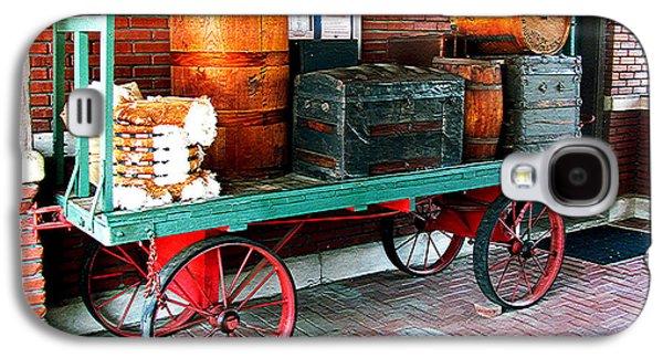 Supply Wagon Galaxy S4 Case by Steve C Heckman