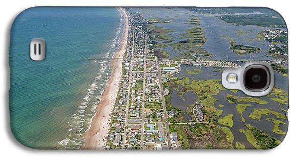 Surf City Topsail Island Longview Galaxy S4 Case by Betsy Knapp