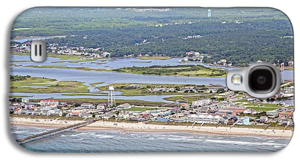 Surf City Topsail Island Sw Galaxy S4 Case by Betsy Knapp
