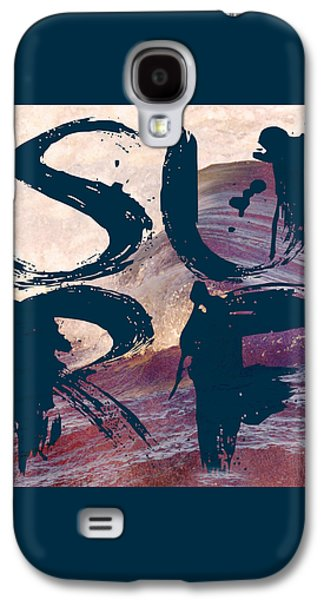 Surf V1 Galaxy S4 Case by Brandi Fitzgerald
