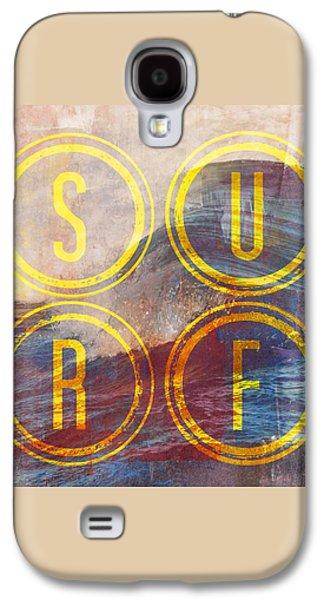 Surf V2 Galaxy S4 Case by Brandi Fitzgerald