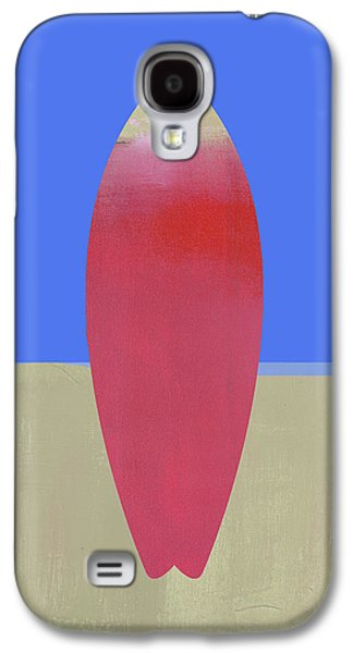 Surfboard Art Galaxy S4 Case by Jacquie Gouveia