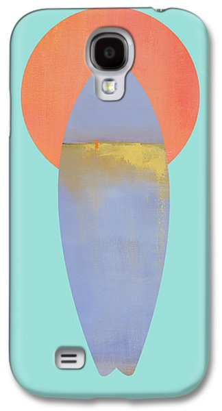 Surfboard Art Print Galaxy S4 Case by Jacquie Gouveia