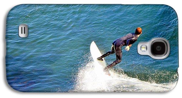 Surfer, Steamer Lane, Santa Cruz, Series 19 Galaxy S4 Case