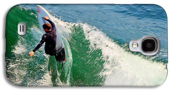 Surfer, Steamer Lane, Series 18 Galaxy S4 Case