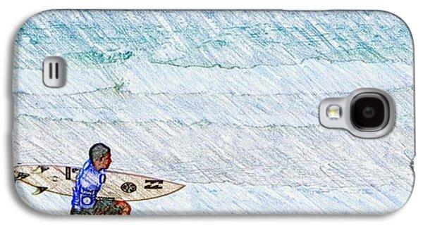 Surfer In Aus Galaxy S4 Case by Daisuke Kondo