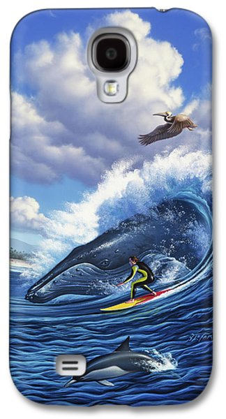 Pelican Galaxy S4 Case - Surf's Up by Jerry LoFaro