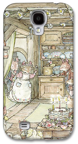 Surprise At Mayblossom Cottage Galaxy S4 Case by Brambly Hedge