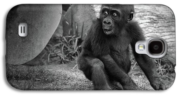Gorilla Galaxy S4 Case - Surprise by Larry Marshall
