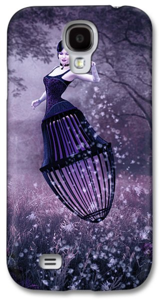 Surreal Fairy And Her Magic Seed  Galaxy S4 Case