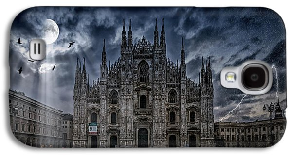 Surreality Art Milan Cathedral No 2 Galaxy S4 Case by Melanie Viola