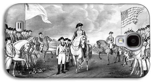 George Washington Galaxy S4 Case - Surrender Of Lord Cornwallis At Yorktown by War Is Hell Store