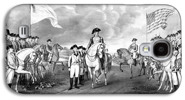 Surrender Of Lord Cornwallis At Yorktown Galaxy S4 Case by War Is Hell Store