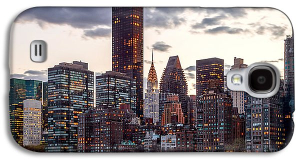 Surrounded By The City Galaxy S4 Case by Az Jackson