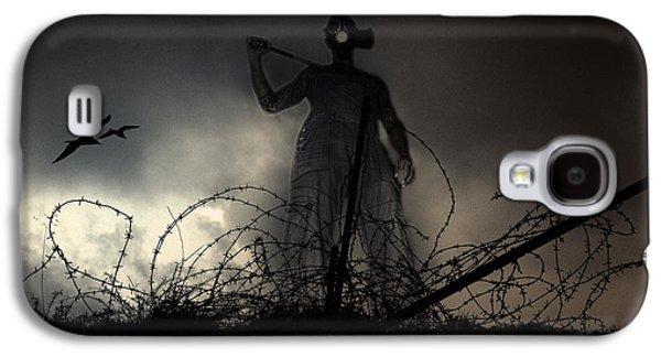Terrorism Galaxy S4 Cases - Survivorman Galaxy S4 Case by Stylianos Kleanthous