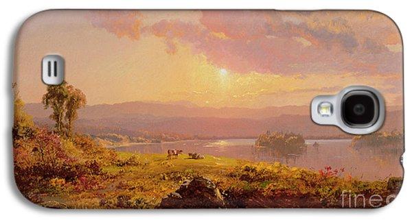 Susquehanna River Galaxy S4 Case by Jasper Francis Cropsey