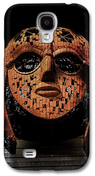 Sutton Hoo - Saxon Mask Galaxy S4 Case by Martin Newman