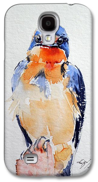 Swallow Galaxy S4 Case - Swallow by Kovacs Anna Brigitta