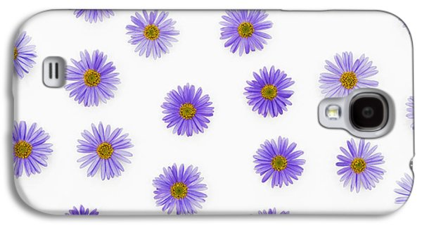 Swan River Daises Galaxy S4 Case by Tim Gainey