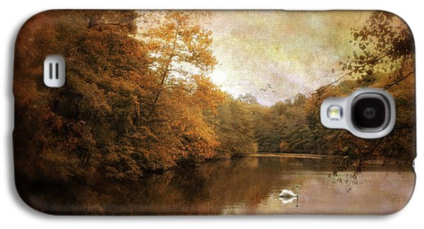 Swan Song II Galaxy S4 Case by Jessica Jenney