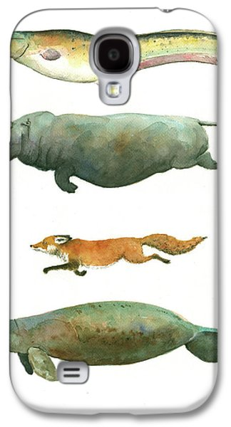 Swimming Animals Galaxy S4 Case