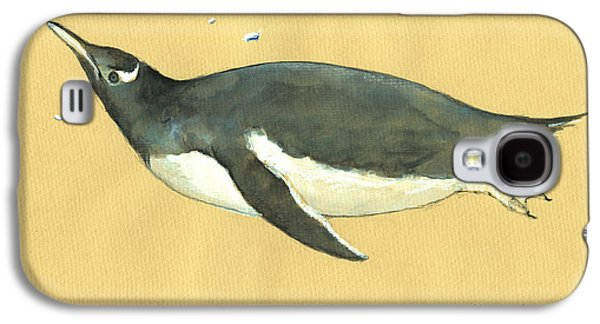 Swimming Penguin Galaxy S4 Case